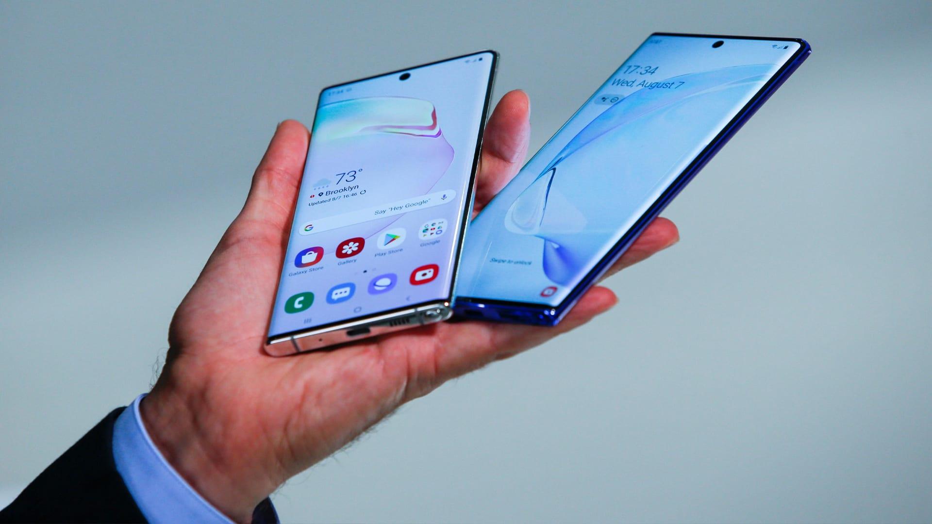 النسخة الإقتصادية من هاتف Galaxy Note 10 ستحمل إسم Galaxy Note 10 Lite