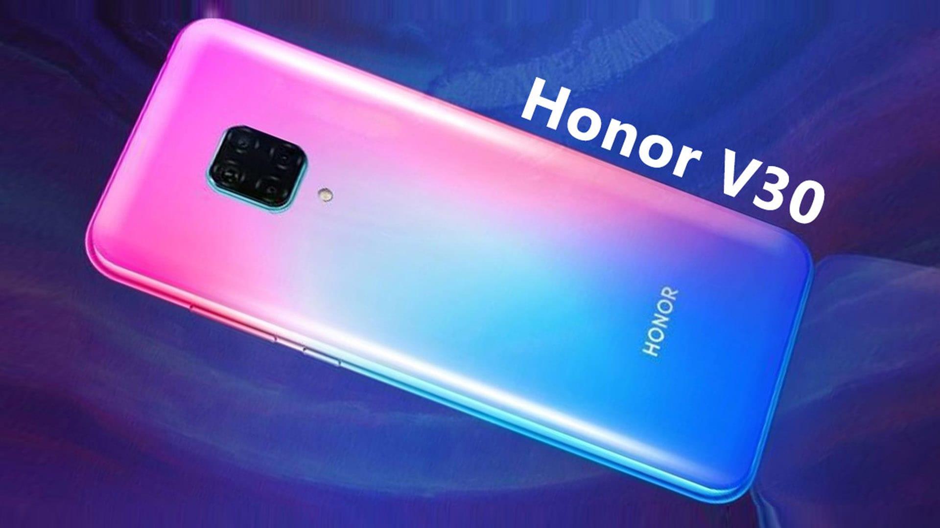 تسريبات الهاتف القادم Honor V30 Pro سيضم شاشة OLED وكاميرا أساسية بدقة 60 ميجابكسل