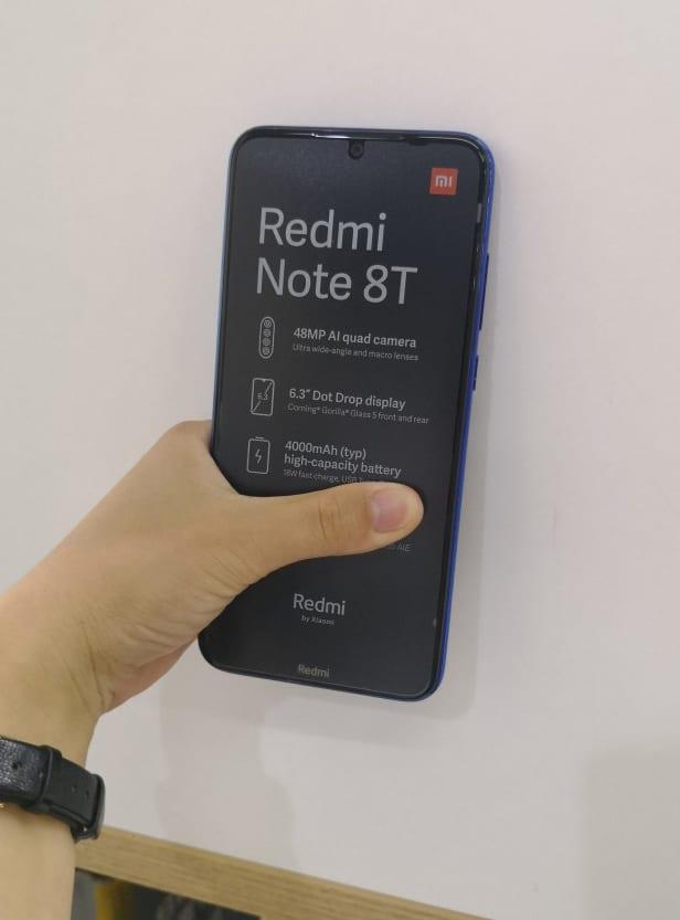 تسريب صور حية لهاتف شاومي القادم Redmi Note 8T