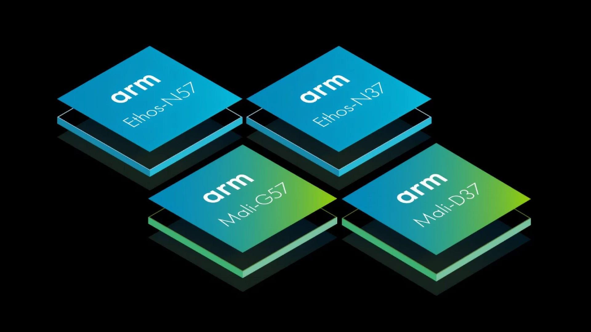 شركة ARM تعلن رسمياً عن أربع شرائح جديدة مميزة بآداء أعلى وبكفاءة ممتازة