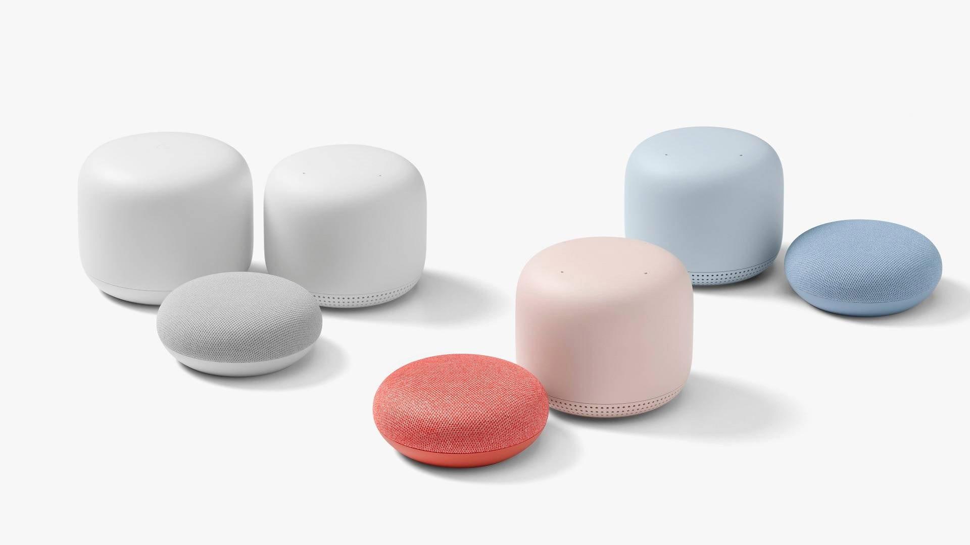 شركة Google تعلن رسمياً عن مكبرات الصوت الذكية Nest Mini و Nest WiFi