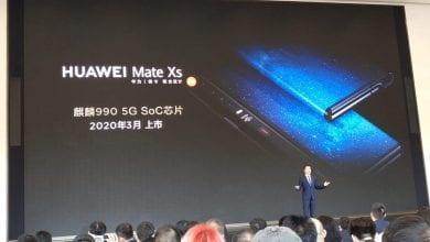 صورة شركة Huawei تجهز لإطلاق هاتفها القادم القابل للطيّ Mate Xs في 2020 بمعالج Kirin 990 5G