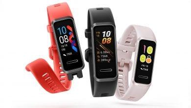 شركة Huawei تكشف عن الإسوارة الذكية Band 4 بشاشة ملونة وسعر يبدأ من 30 دولار