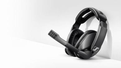 شركة Sennheiser تُعلن عن السماعة اللاسلكية GSP 370 للاعبين مع بطارية تعمل 100 ساعة