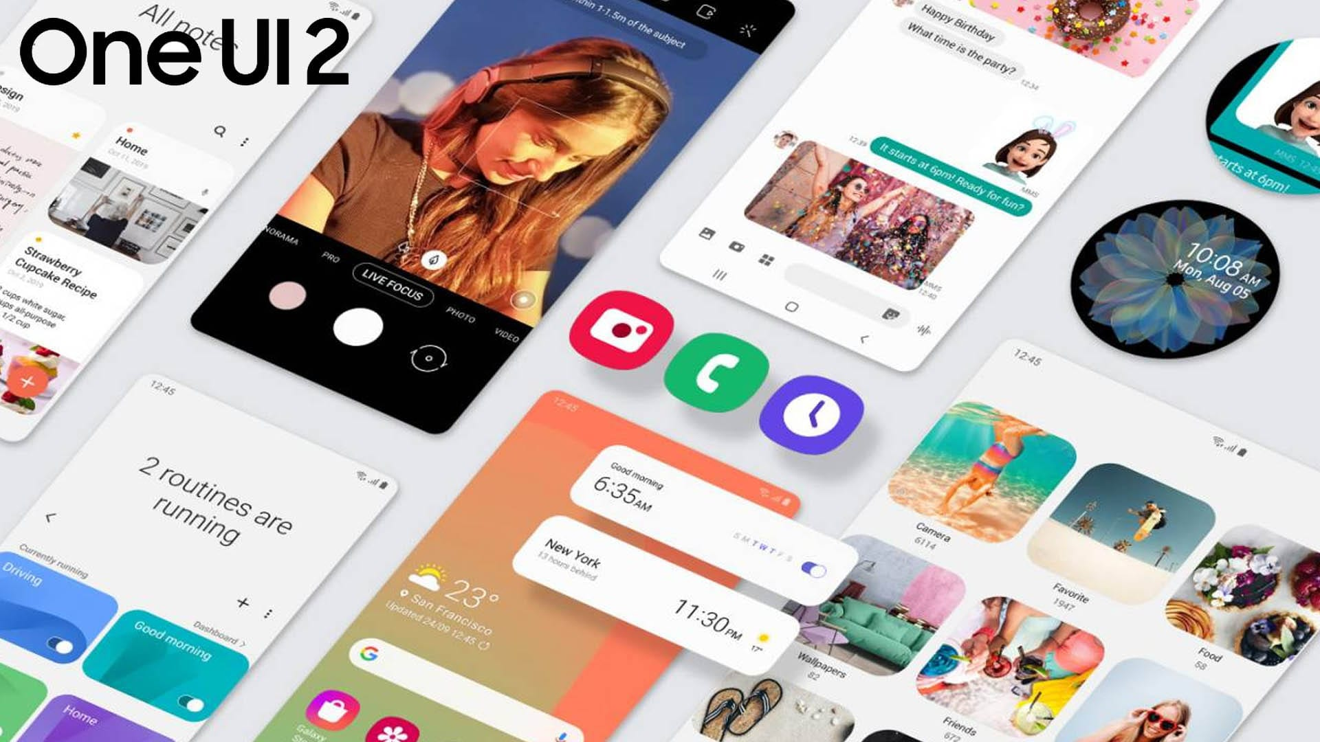 بدأ سلسلة هواتف Galaxy S10 Series بتلقي تحديث Android 10