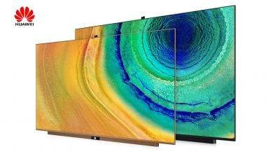 صورة شركة Huawei تزيح الستار رسميًا عن تلفزيونات ذكية جديدة مزودة بكاميرات منبثقة وبنظام HarmonyOS