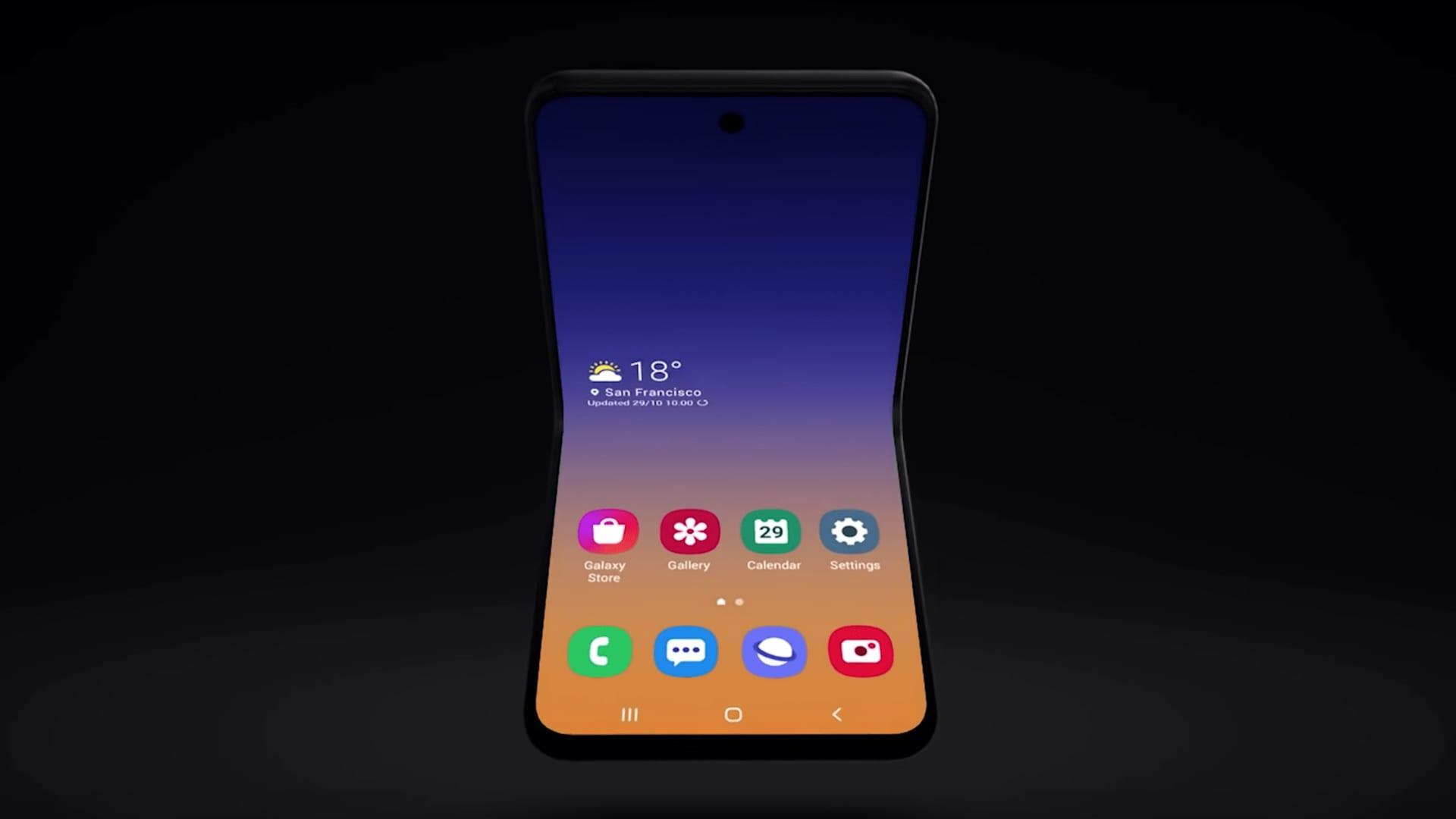توقعات بقدوم هاتف GALAXY FOLD 2 بسعر أقل من 1000 دولار