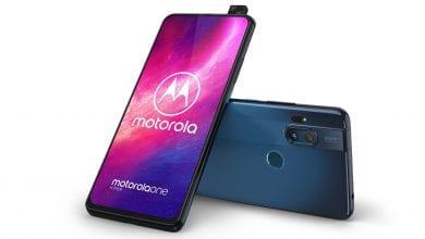 صورة شركة Motorola تطلق هاتفها الجديد One Hyper بنظام Android 10 وبسعر 399 دولار