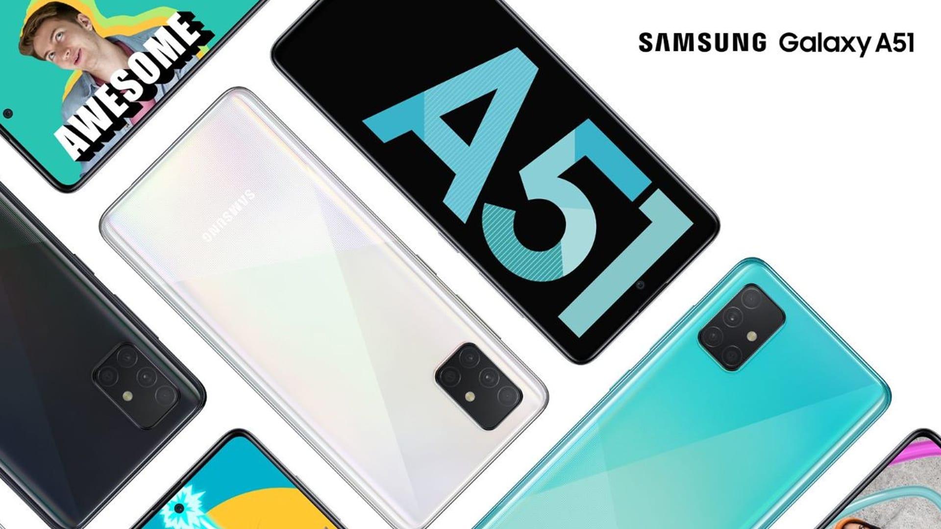 شركة Samsung تكشف النقاب رسميًا عن الهاتفين الجديدين Galaxy A51 و Galaxy A71 2