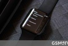 صورة أول صورة حية لـ Oppo smartwatch تكشف عن Google Wear OS