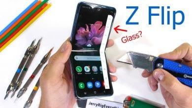 صورة اختبارات المتانة بهاتف Galaxy Z Flip تثير الشكوك حول شاشة Ultra Thin Glass