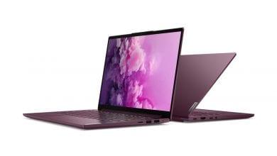صورة الحاسوب المحمول Lenovo Yoga Slim 7 سيتيح لك الحصول عليه مع معالج AMD أو Intel