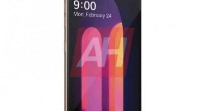 صورة الهاتف LG V60 ThinQ يظهر في صورة رسمية مُسربة