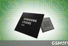 صورة تبدأ شركة Samsung الإنتاج الضخم لذاكرة الوصول العشوائي ذات سعة 16 جيجابايت LPDDR5