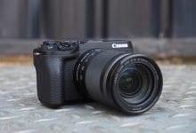 صورة تصل كاميرا Canon EOS 90D DSLR & M6 Mark II بدون دقة وضوح 32 ميجابكسل ، والفيديو بدقة 4K