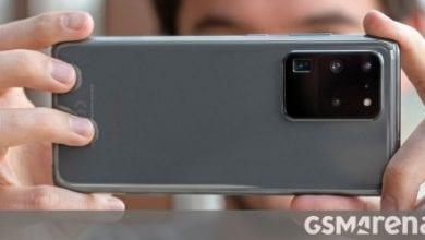 صورة تعمل Samsung على تحديث لتحسين جودة صورة Galaxy S20 Ultra