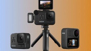 صورة تم الكشف عن GoPro Hero 8 Black إلى جانب 360 درجة كحد أقصى