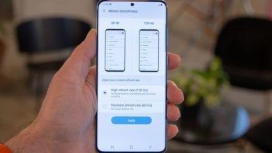 صورة ربما تعمل Samsung بالفعل على تحديث عرض لجهاز Galaxy S20