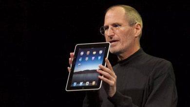صورة ستيف جوبز كشف عن جهاز iPad الأول قبل عشر سنوات من اليوم