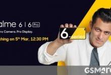 صورة سيأتي Realme 6 و 6 Pro في 5 مارس ، وستتميز فرقة اللياقة البدنية