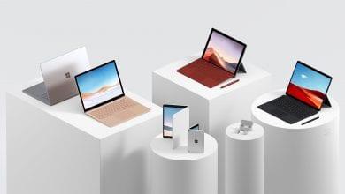 صورة مايكروسوفت تكشف عن Surface Laptop 3 و Surface Pro 7 و Surface Pro X