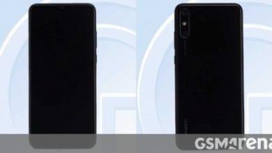 صورة هاتف Huawei مع أسطح Helio P35 وذاكرة RAM سعة 4 جيجابايت