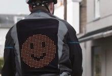 صورة يهدف Ford's Emoji Jacket لراكبي الدراجات إلى تعزيز الوئام بين مستخدمي الطرق