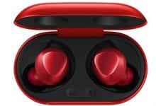 صورة النسخة الحمراء من سماعات الأذن اللاسلكية +Galaxy Buds تظهر على الويب