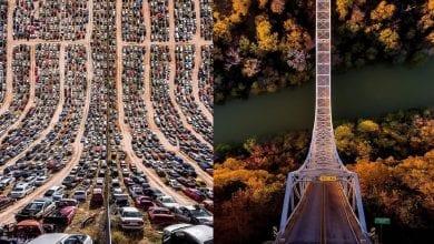 Photo of 19 صورة جوية مذهلة مع منظور جديد للعالم