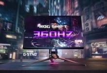 صورة Asus تعلن عن مجموعة من المنتجات الجديدة، ومن بينها أول شاشة 360Hz في العالم