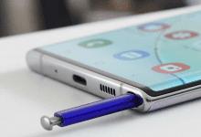 صورة براءة إختراع تكشف عن بعض من مميزات Galaxy Note 20 القادم من سامسونج