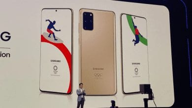 صورة سامسونج تكشف عن إصدارها الخاص بأولمبياد طوكيو 2020 من هاتف Galaxy S20 Plus 5G