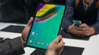 صورة الكشف عن سعة بطارية Galaxy Tab S6، وسرعة الشحن التي سيدعمها