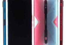 صورة مواصفات وتصميم هاتف الألعاب Nubia Red Magic 5G قبل الإعلان الرسمي