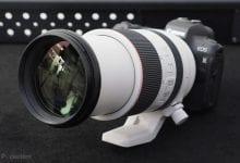 صورة Pro-spec Canon EOS R سيجلب نظام التثبيت في الجسم ، عدسات جديدة من المقرر 2020