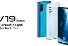 صورة Vivo تحدد رسميًا موعد وصول الهاتف Vivo V19، وتؤكد قدومه مع أربع كاميرات في الخلف