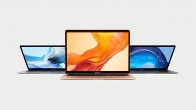 صورة آبل تجدد MacBook Air مع معالجات رباعية النوى، ولوحة مفاتيح جديدة، وسعر منخفض