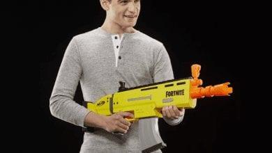 صورة أسلحة Nerf Fortnite من Hasbro قادمة في 22 مارس