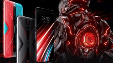 صورة إعلان تشويقي جديد يستعرض المواصفات الرئيسية لهاتف NUBIA RED MAGIC 5G