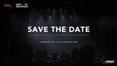 صورة إعلان تشويقي من TCL لمؤتمرها القادم خلال فعاليات MWC 2020