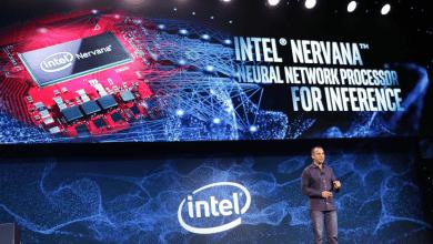 صورة إنتل تكشف عن معالج Nervana الذي يدعم تقنية الذكاء الإصطناعي  #CES2019