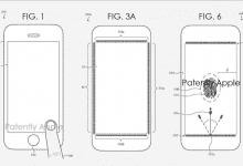 صورة ابل تسجل براءة إختراع جديدة لتقنية إستشعار البصمة المدمجة في الشاشة
