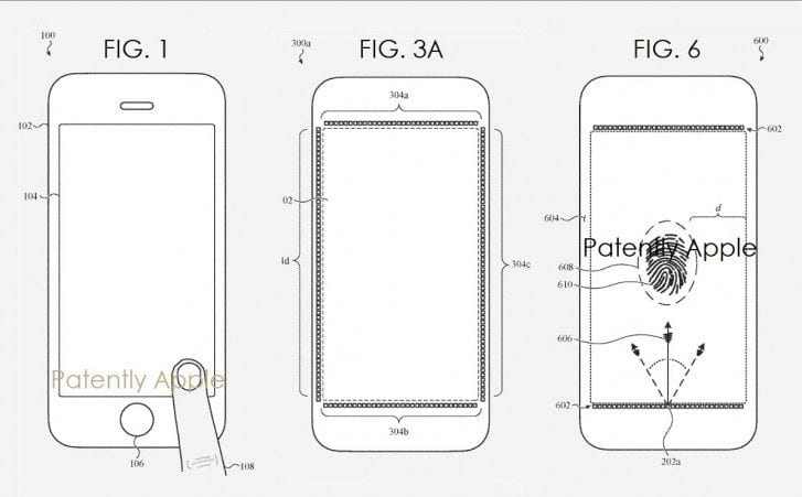 New Apple patent in-display fingerprint scanner