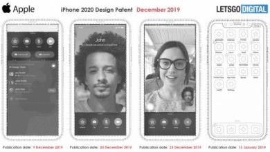 صورة ابل تسجل براءة إختراع لتصميم جديد لهاتف الأيفون بدون نتوء في الشاشة