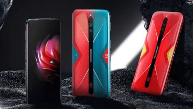 صورة الإعلان الرسمي عن هاتف الألعاب Red Magic 5G بذاكرة عشوائية 16 جيجا بايت رام