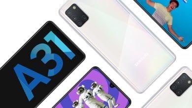 Photo of الإعلان رسميًا عن الهاتف Galaxy A31 مع أربع كاميرات في الخلف، وبطارية بسعة 5000mAh