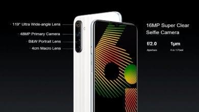 Photo of الإعلان رسميًا عن الهاتف Realme 6i مع شاشة بحجم 6.5 إنش، وأربع كاميرات في الخلف