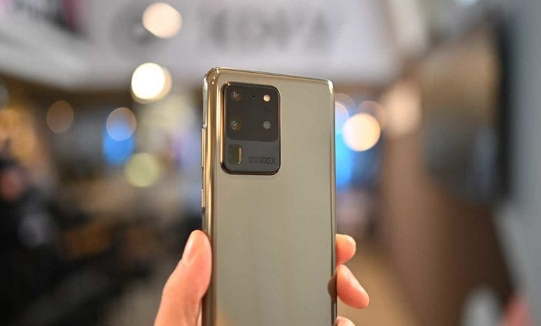 صورة الهاتف Galaxy S20 Ultra سيحصل على لون جديد في المستقبل القريب