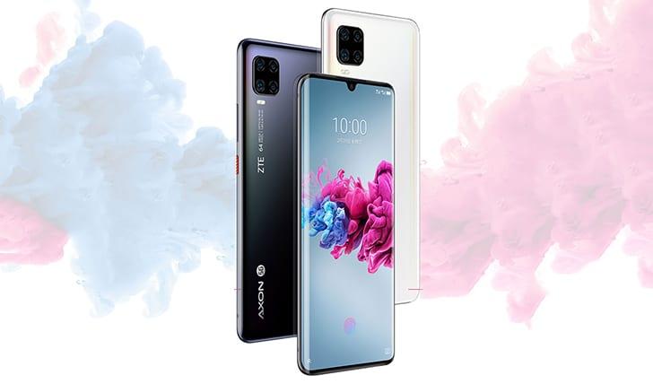 صورة الهاتف ZTE Axon 11 5G أصبح متوفرًا الآن للشراء بشكل رسمي مقابل 379$