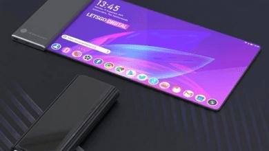 صورة براءة إختراع جديدة من LG تكشف عن هاتف بشاشة قابلة للتدوير